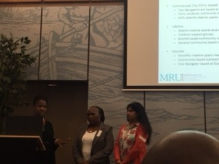 Staff from MRU and Commercial City Clinic at the DIFFER meeting in Brussels