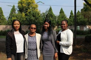 HIV counselors and retention officer, Edendale