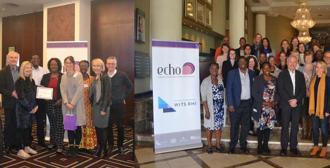 Jenni Smit, Zonke Mabude and Mags Beksinska attend the ECHO Investigators meeting 19-20 June 2019
