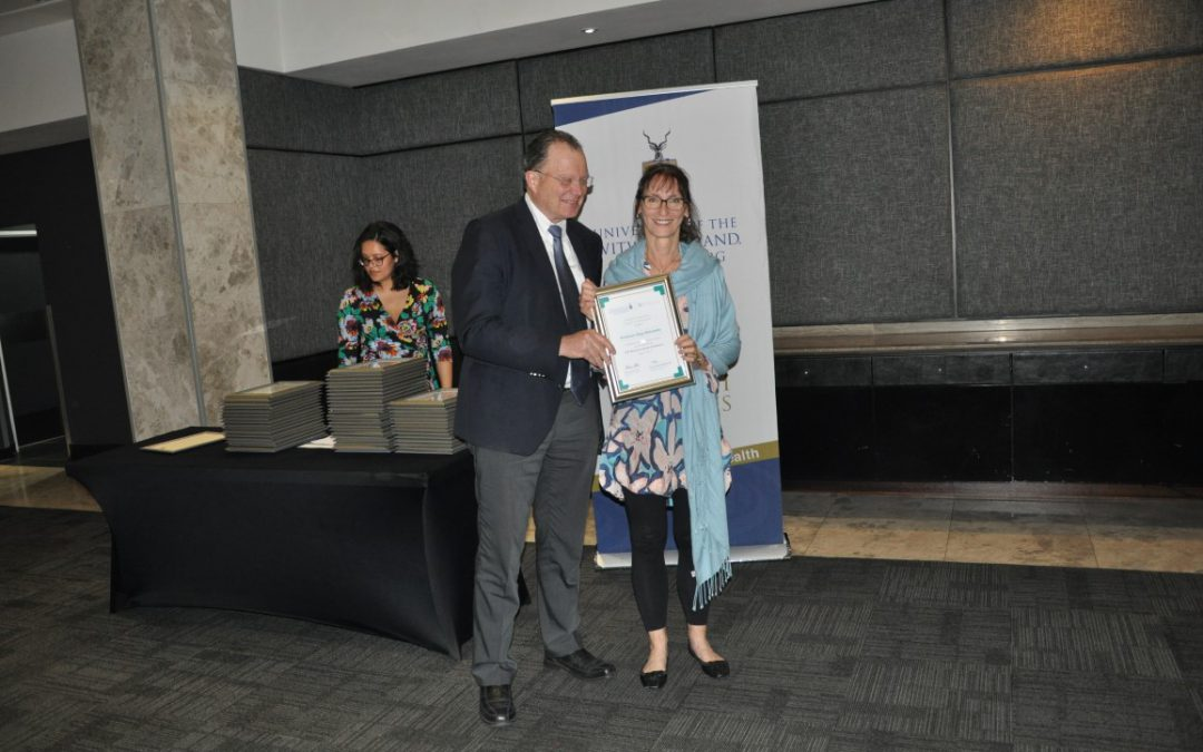 Faculty of Health Sciences Research Awards presentation